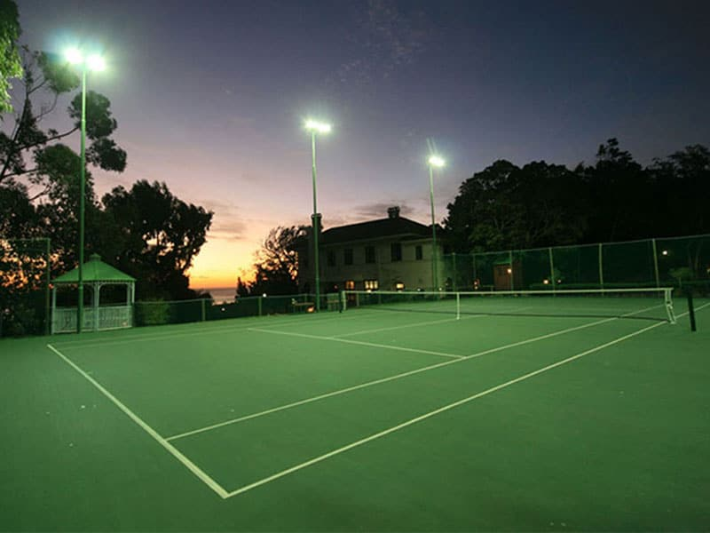 Camps Bay Retreat Tennis Court At Night