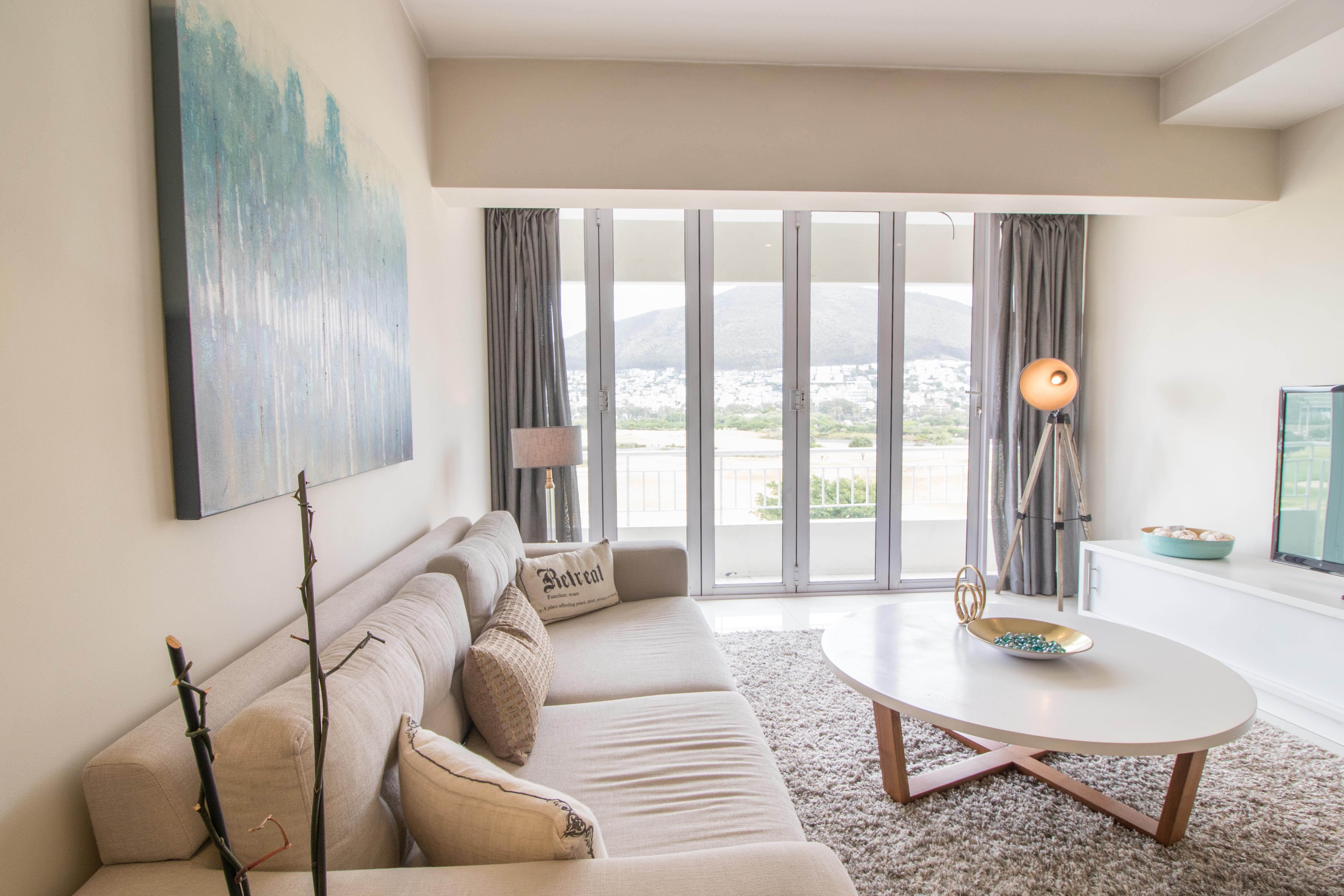 Mouille Point Village apartment lounge area