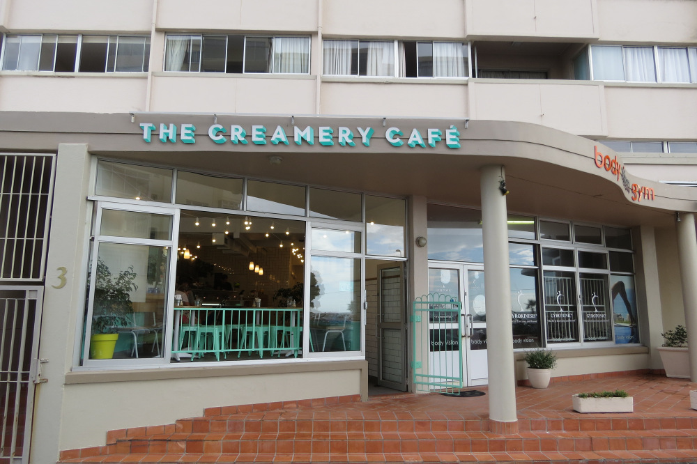 The creamery in Mouille Point