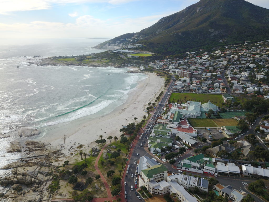 camps bay birds eye view