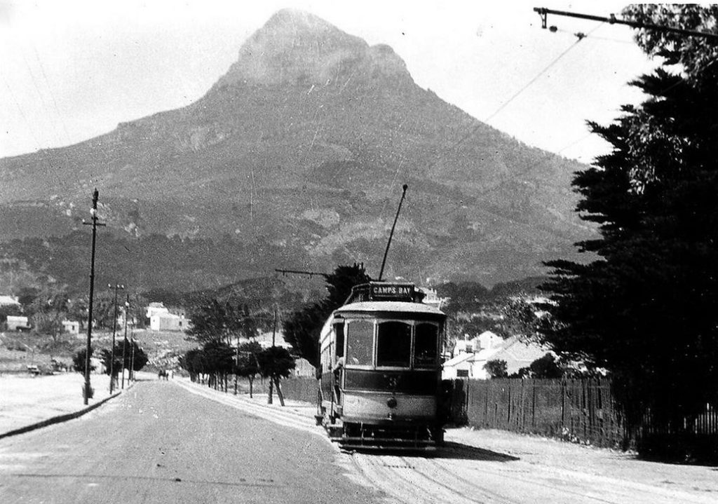 tramline to camps bay early 1900s